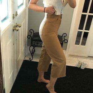 Community khaki pants from aritzia